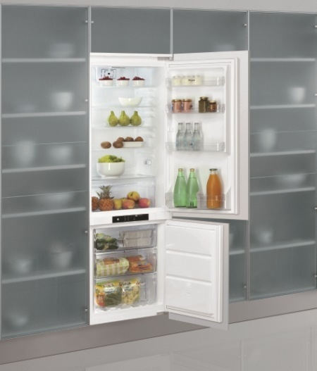 Built In Botton Mount No Frost Refrigerator