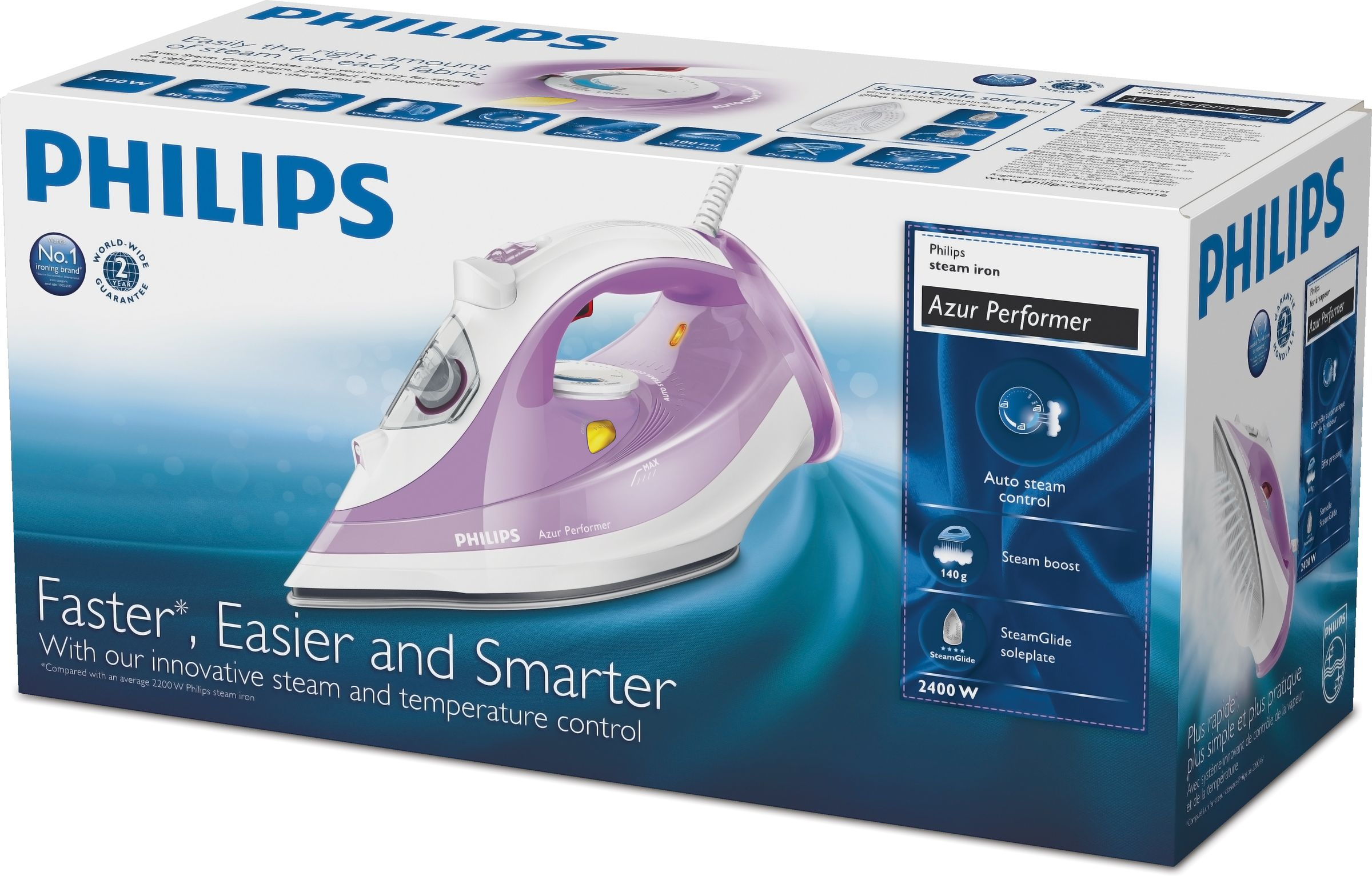Philips Azur Performer Steam iron