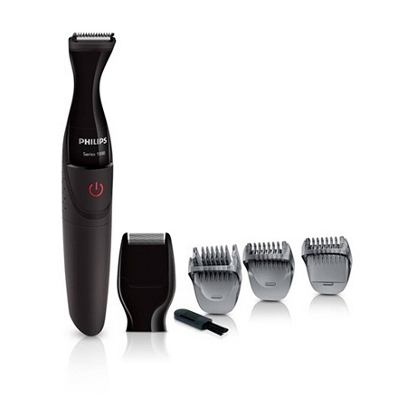 Multigroom series 1000 Ultra precise beard styler with DualCut Technology