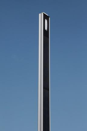 STRAIGHT SOLAR POLE LIGHT 5.8 M